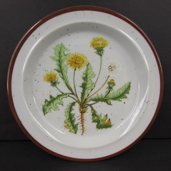 Vintage Other - Dandelion 206 Japan Brown Speckle Stoneware Plate